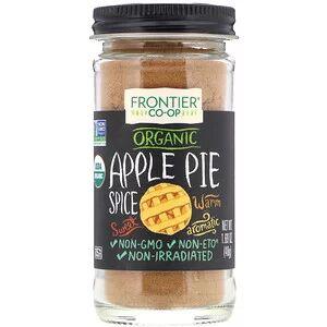 Frontier Natural Products, Органика, Специи для яблочного пирога, Без соли, (48 г)