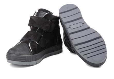 Ботинки Ботинки, подкладка шерсть. Цвет чёрный