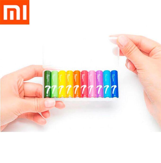 Батарейки Xiaomi ААА (мизинчиковые) Распродажа! Кейс 10 шт