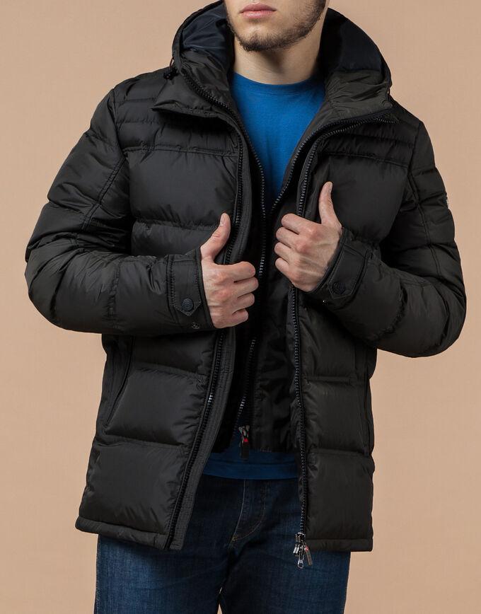 Трендовая темно-оливковая куртка модель 12055