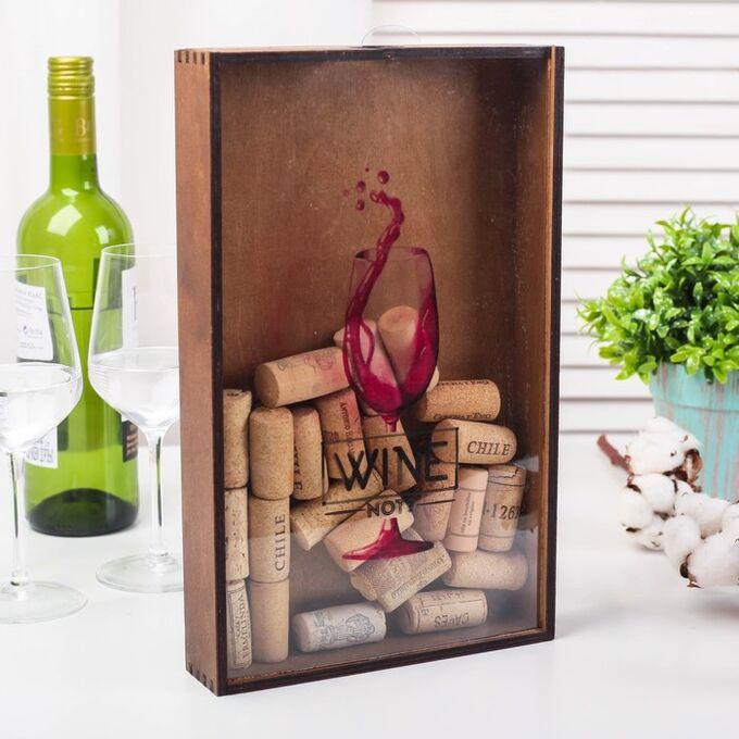Копилка для пробок Wine. 31 х 19 см