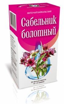 Сабельник болотный (Болезни костей, суставов) 50 гр.
