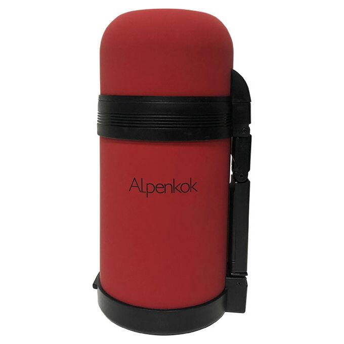 Термос универсальный 0,8 л ALPENKOK AK-08001M SOFT TOUCH
