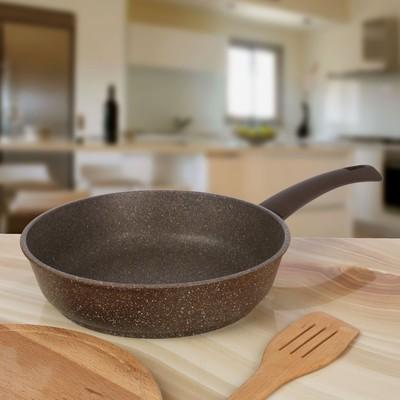 Сковорода Pietra Тёплый гранит 26 см