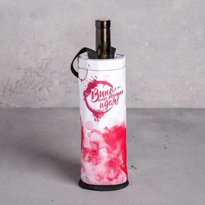 """Термочехол для бутылки """"Вино"""", 9 х 24,5 см"""