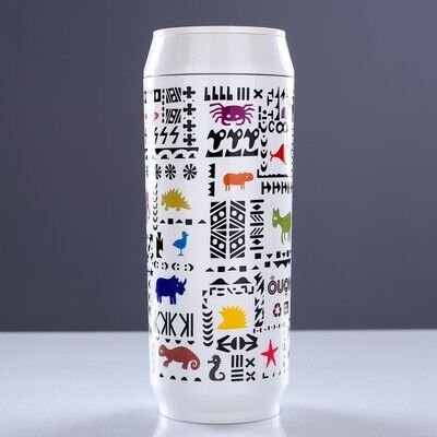 Термос Coke Can, 400 мл, 7х18 см