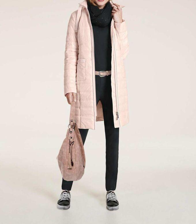 Пальто, розовое