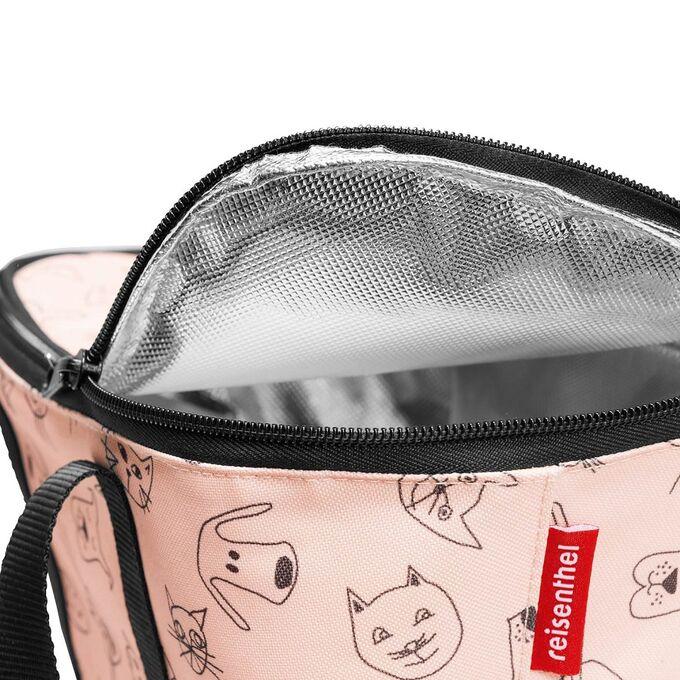 Термосумка детская Coolerbag XS cats and dogs rose