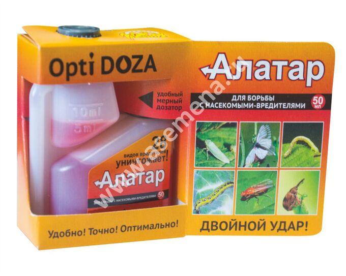 От вредителей Алатар 50 мл. Opti DOZA (1/19)/ВХ/