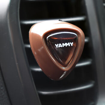 "Ароматизатор на дефлектор YAMMY жидкий ""Cappuccino"""