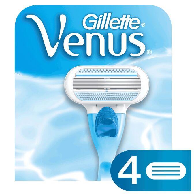 GILLETTE VENUS Сменные кассеты для бритья (4 шт.)