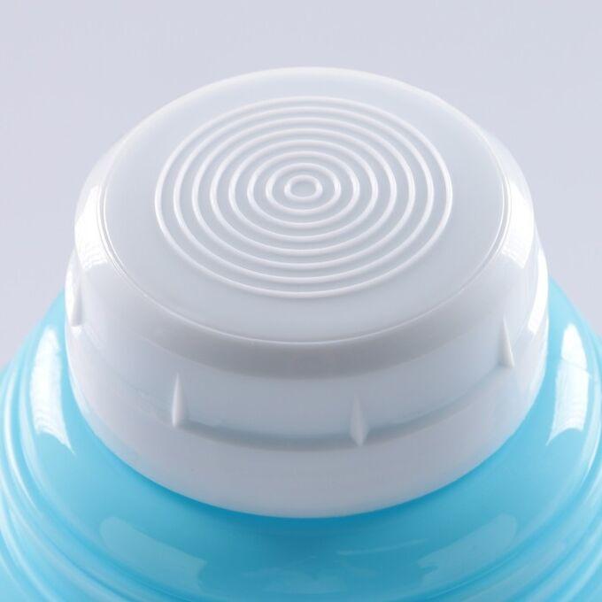 """Термос """"Основа"""",  1 л, с 1 кружкой, сохраняет тепло 8 ч, 13х28 см, микс"""