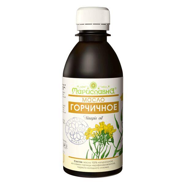 Горчичное масло 100% натуральное, нерафинированное, пищевое