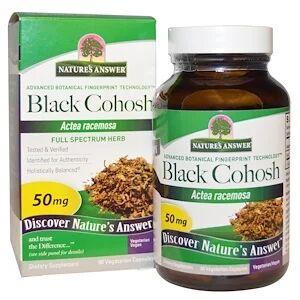 Nature's Answer,  клопогон кистевидный, 50 мг, 90 растительных кап.