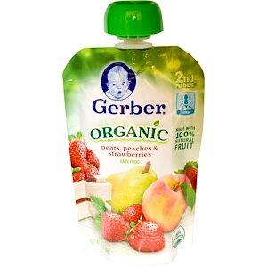 Gerber, 2nd Foods, органическое детское питание,  (99 г)