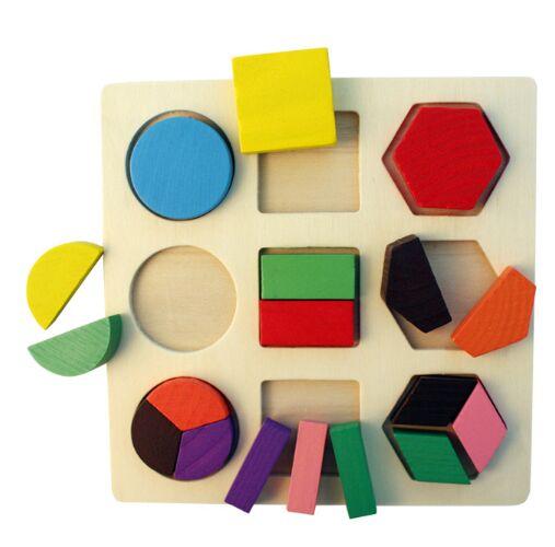 Деревянная игрушка головоломка