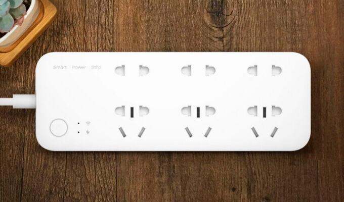 Умный удлинитель Xiaomi Mi Smart Power Strip ZNCXB01ZM 6 розеток