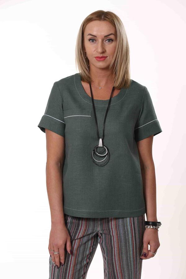 Блуза Зеленый