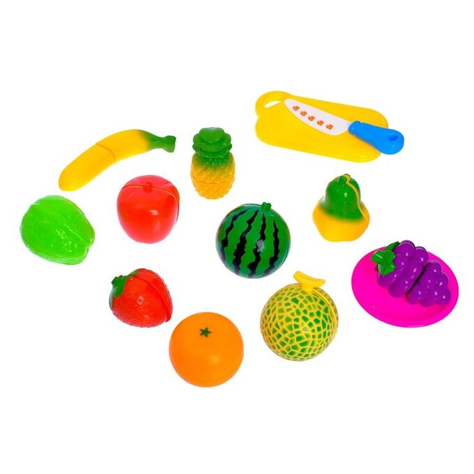 Набор продуктов «Поварёнок», продукты-нарезка на липучке, МИКС