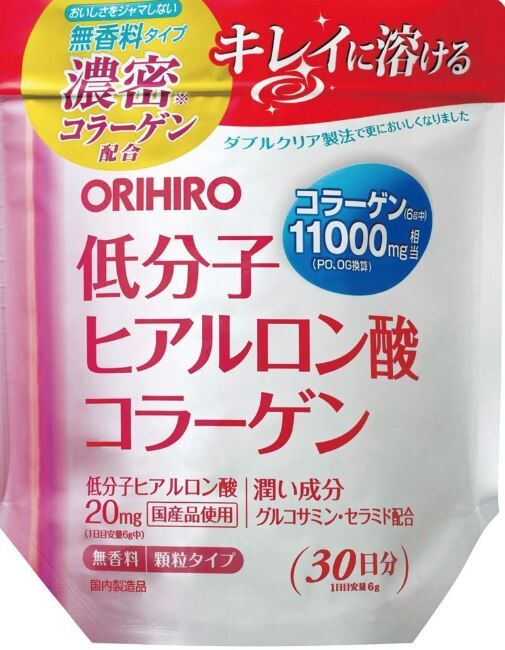 Коллаген + Гиалуроновая кислота 11000 мг (180гр), 30дней