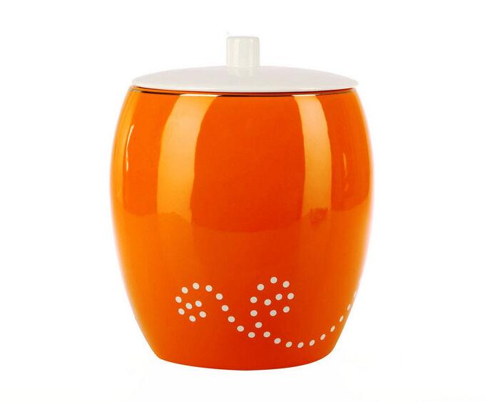 Maison (оранжевый) Урна для туалета (керамика) в Хабаровске