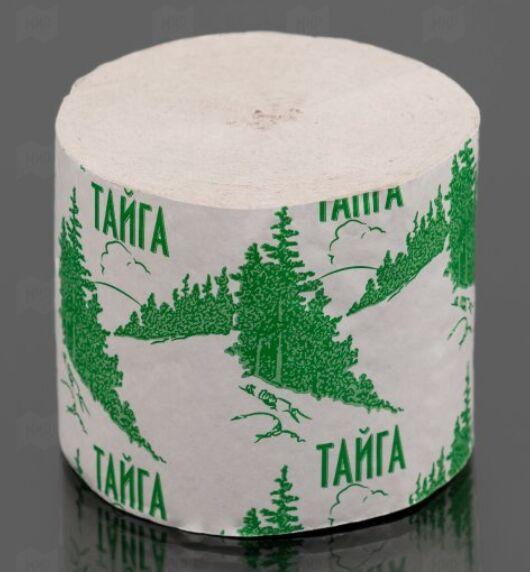 Туалетная бумага Тайга