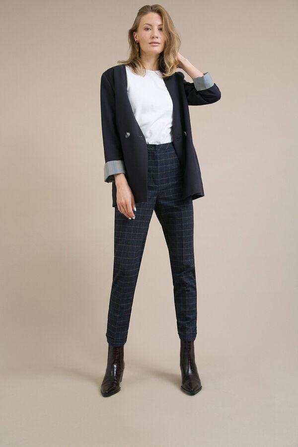 #93886 Жакет (Emka Fashion) темно-синий