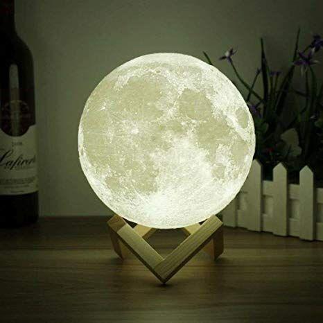 3D Светильник Moon Lamp