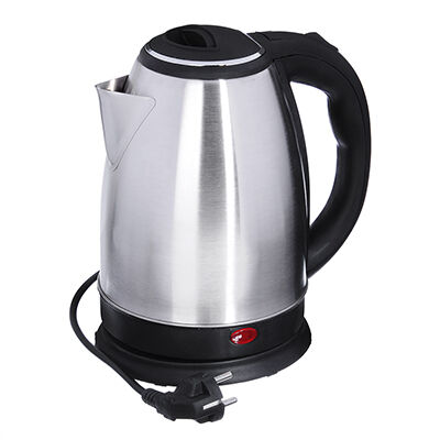 Чайник электрический 1,8л, 1500Вт, скрытый нагр.элемент, нерж.сталь, 220В
