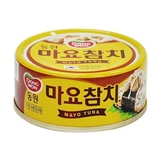 Тунец консервированный в майонезном соусе Tuna with Mayonnaise sayce, 100г