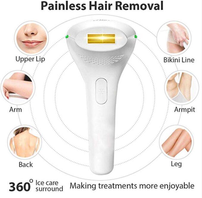 ШОК Цена! Перманентный лазер для удаления волос Bosidin D1176 IPL permanent laser hair Removal device for Men and Women Full Boduy