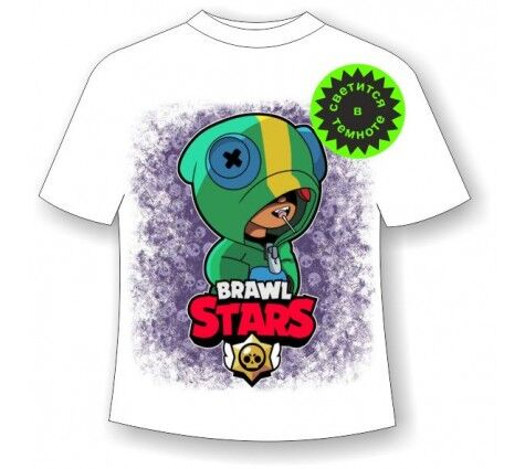 Детская футболка «Brawl stars» Лион