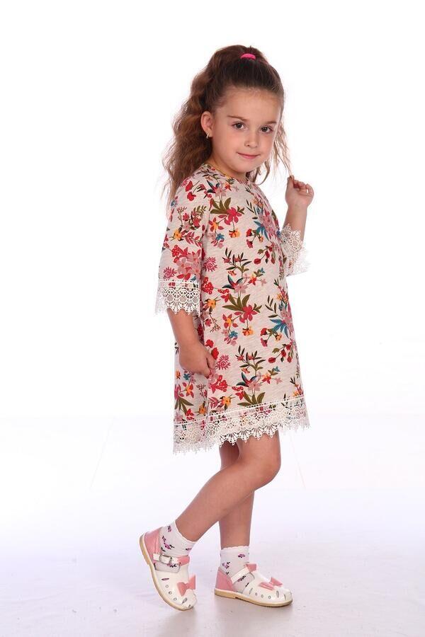 Платье Ткань:Кулирка, Состав:Хлопок 100%