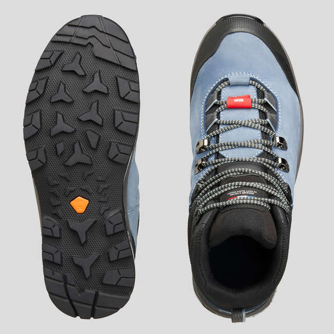 Ботинки  кожаные с мягкой подошвой женские