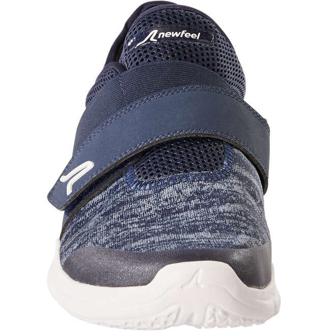 Кроссовки мужские на липучках для фитнес ходьбы Soft 180 NEWFEEL