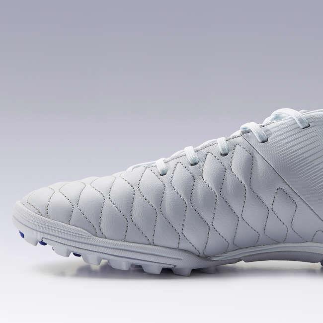 Бутсы футбольные д/взрослых д/твердых покрытий кожаные серо-синие Agility 540 HG KIPSTA