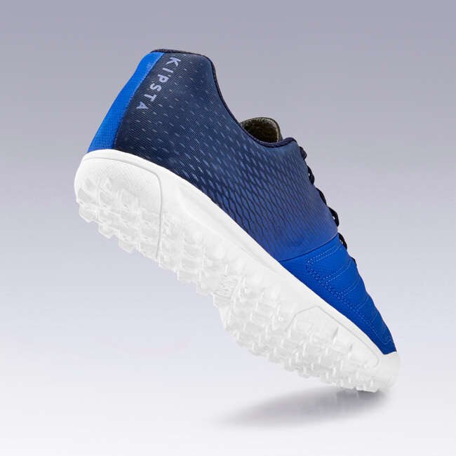 Бутсы футбольные для взрослых для твердых покрытий синие Agility 140 HG KIPSTA