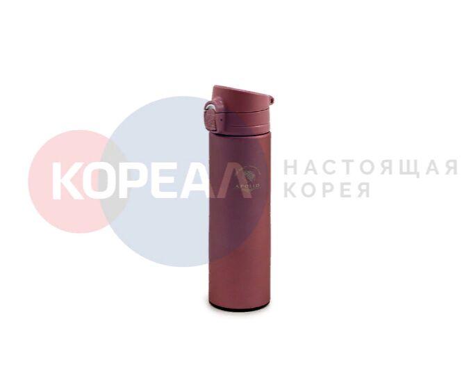 Термос питьевой Apollo 0,48 л. розовый