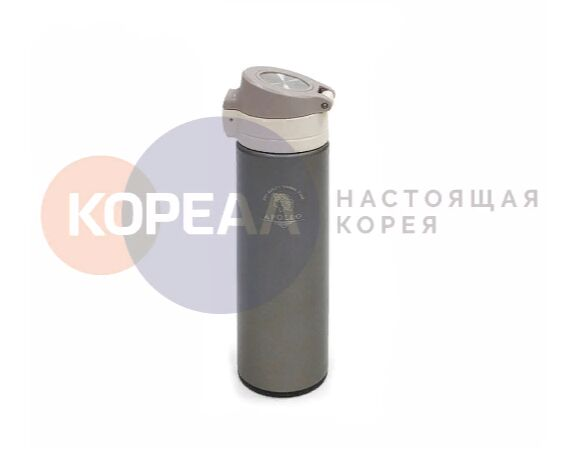 Термос питьевой Apollo 0,48 л. серый