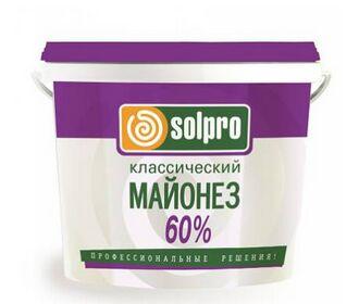 Майонез Провансаль SolPro классический 60% 1*2 ведро