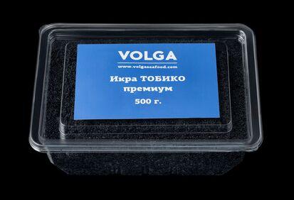 Икра Масаго стандарт черная (микс сельдь,мойва) Россия, 0,5кг*20