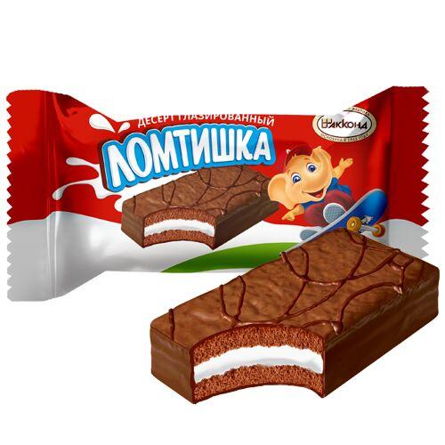 Десерт Ломтишка глазированый