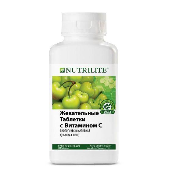 NUTRILITE™ Жевательные таблетки с витамином С, 100 таб.