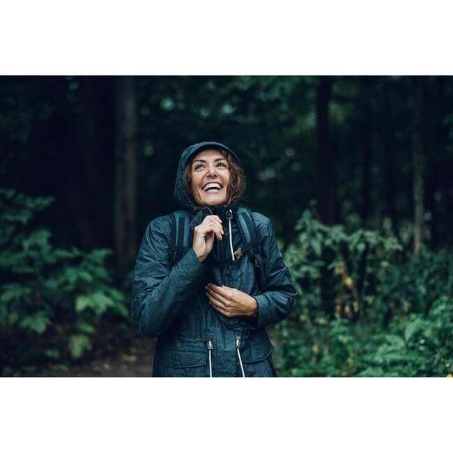 Женская водонепроницаемая куртка для походов на природе - NH550 Imper QUECHUA