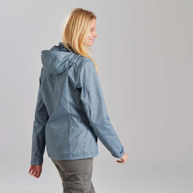Женская куртка для горных походов MH100 QUECHUA
