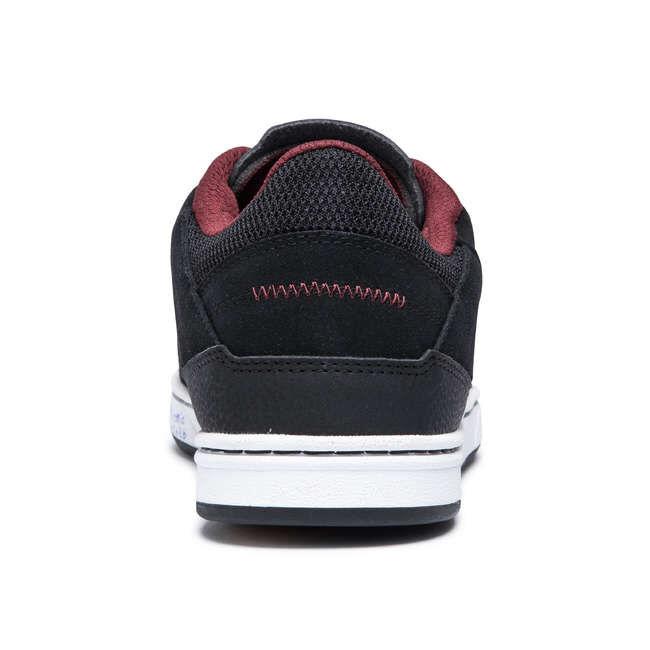 Кеды Кеды с хорошей фиксацией для катания и выполнения трюков на скейтборде. Конструкция кроссовок обеспечивает правильную фиксацию и хорошую прочность. Прочность обуви для скейта обеспечивается голен