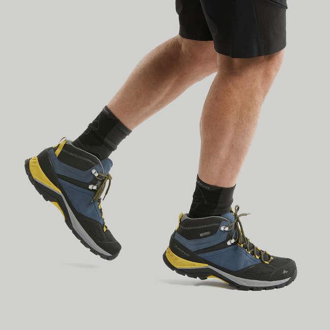 Ботинки мужские водонепроницаемые для горных походов MH500 QUECHUA