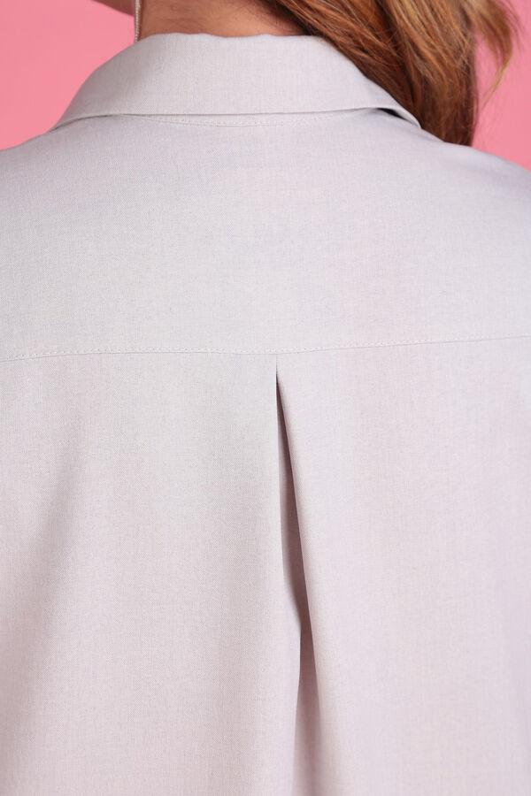 Бежевый Примечание:замеры длин соответствуют размеру 60, рост 164 см Длина платья:123 см Длина рукава:35 см Подкладка:нет Застёжка:пуговицы спереди Карманы:нет Декор:принт, пояс Состав:полиэсте