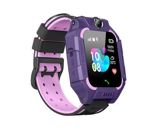 Умные часы детские E15 без GPS фиолетовые
