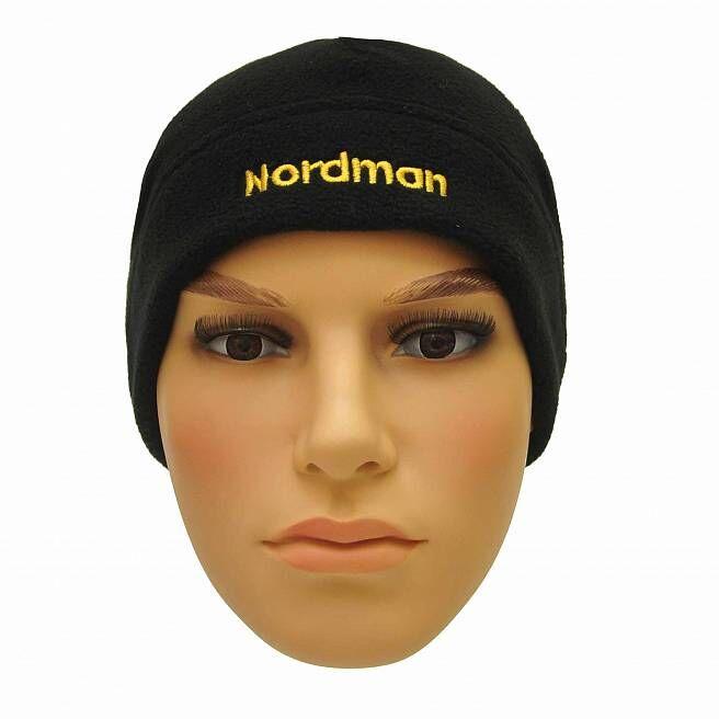 Шапка Nordman флисовая однослойная черная
